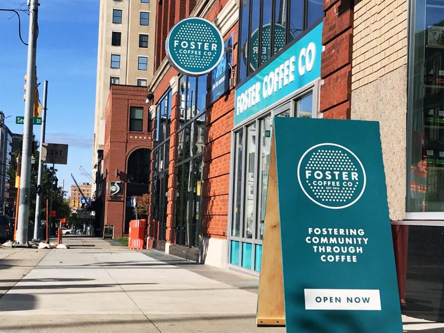 Foster Coffee Comes to Flint