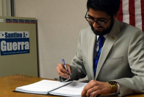 UM-Flint Student, Flint City Councilman Santino Guerra Kicks-Off Term