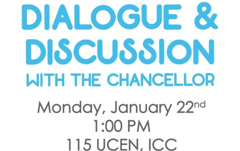 Dialogue and Discussion with the Chancellor Offers an Outlet for Student Concerns