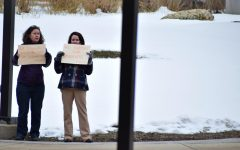 UM-Flint Students Participate in Walkouts
