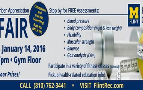 Check out the Fit Fair on Thurs. Jan 14