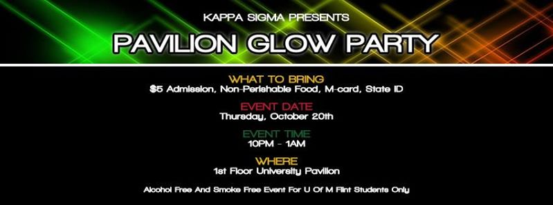 Kaapa Sigma hosts glow party this Thursday