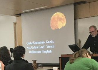 Students Treated to Halloween History Event