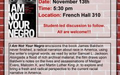Showing of 'I Am Not Your Negro' Open to All