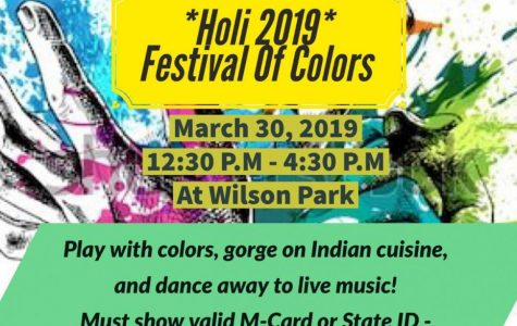 Holi Festival Ending March with a Splash of Color