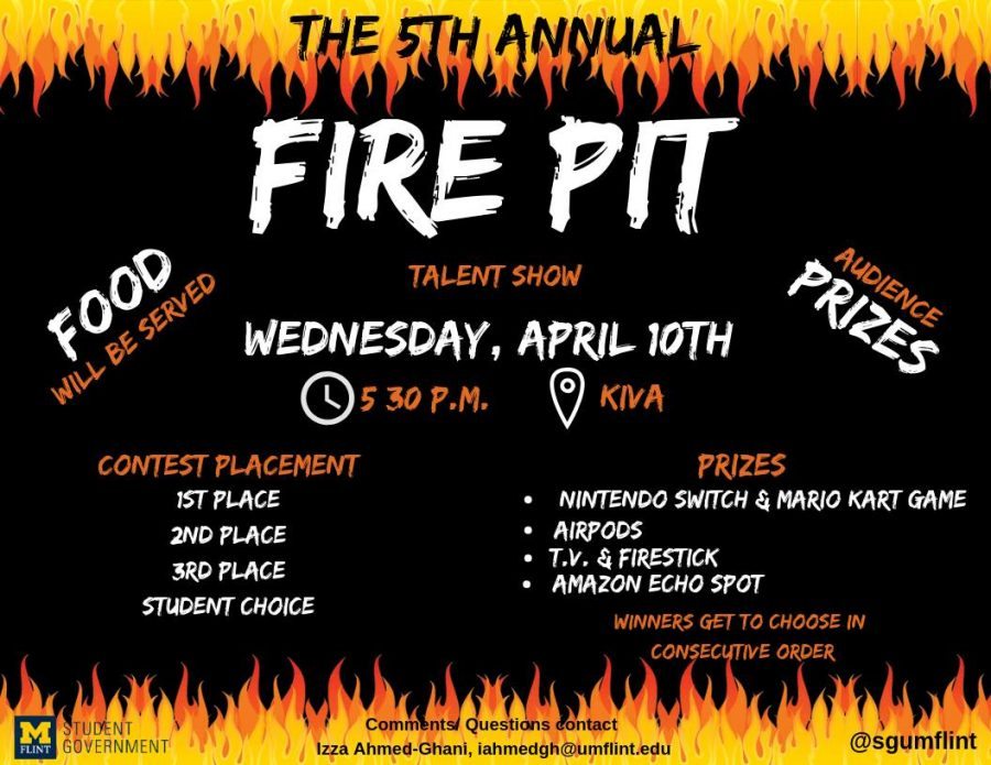 Last Day for Fire Pit Auditions this Wednesday as the Event Nears