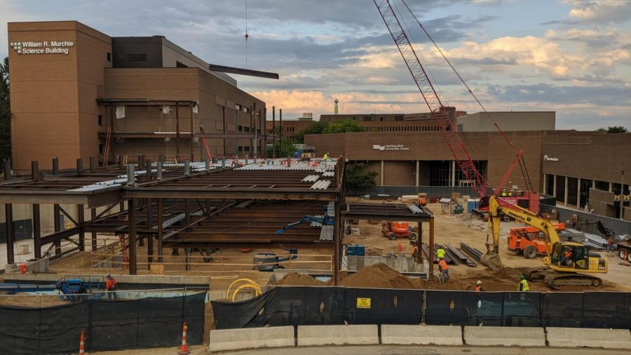 Murchie Science Building Construction Moves Forward