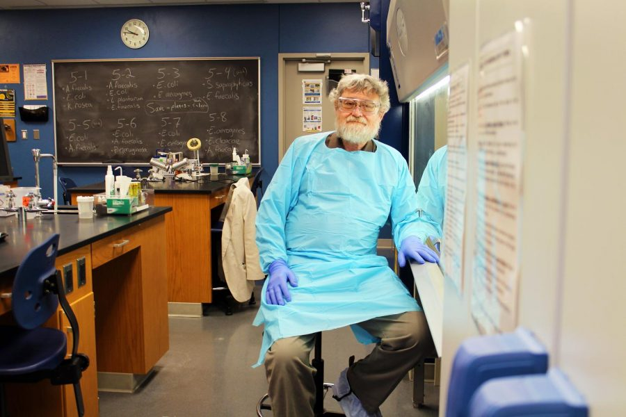 Dr. Jerry Sanders spends his days in the lab searching for more effective treatments to cancer.