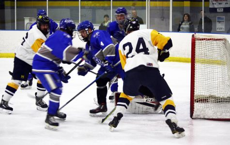 Wolverines Drop to Lawrence at the Rink