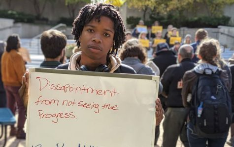Black student at UM-Flint feel disenfranchised. They don't see themselves reflected in the school's population.