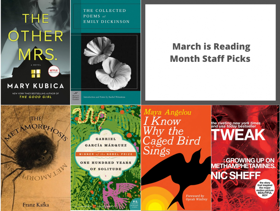 The+M-Times+Staff+Share+their+Must-Reads+for+March+is+Reading+Month