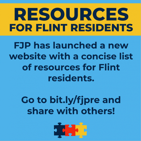 Flint Justice Partnership Creates Website with Information About Resources For Flint Residents
